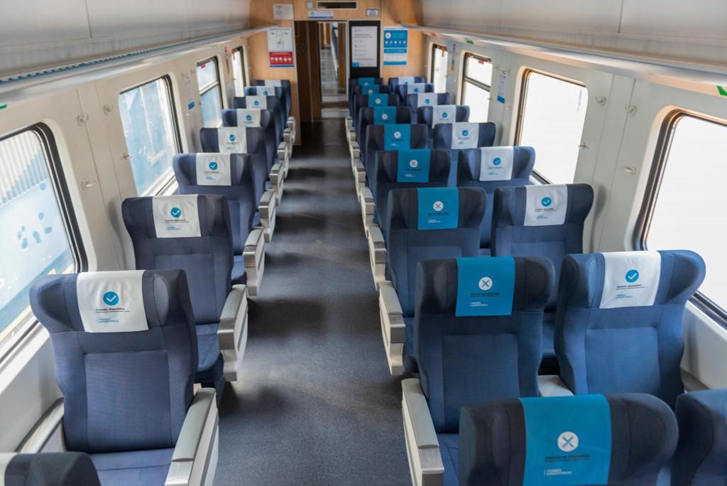 Trenes: ahora los jubilados podrán sacar sus pasajes con descuento a través de la WEB
