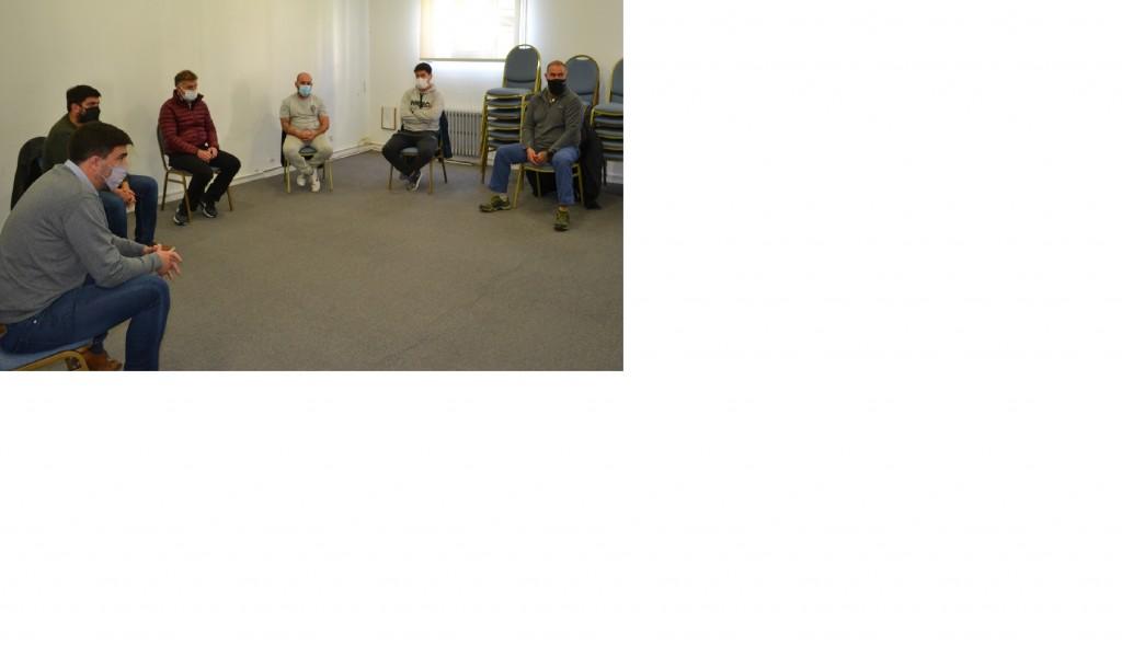 El intendente Galli se reunió con propietarios de gimnasios