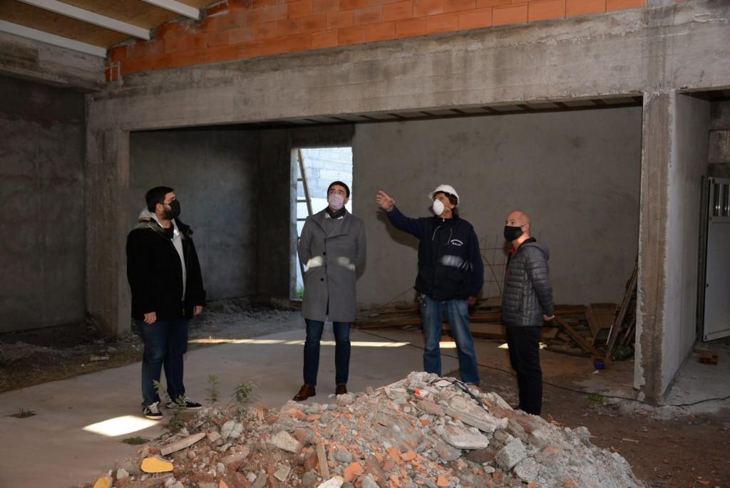 Continúan las obras en el Jardín Nº 930 con una inversión de más de 10 millones de pesos
