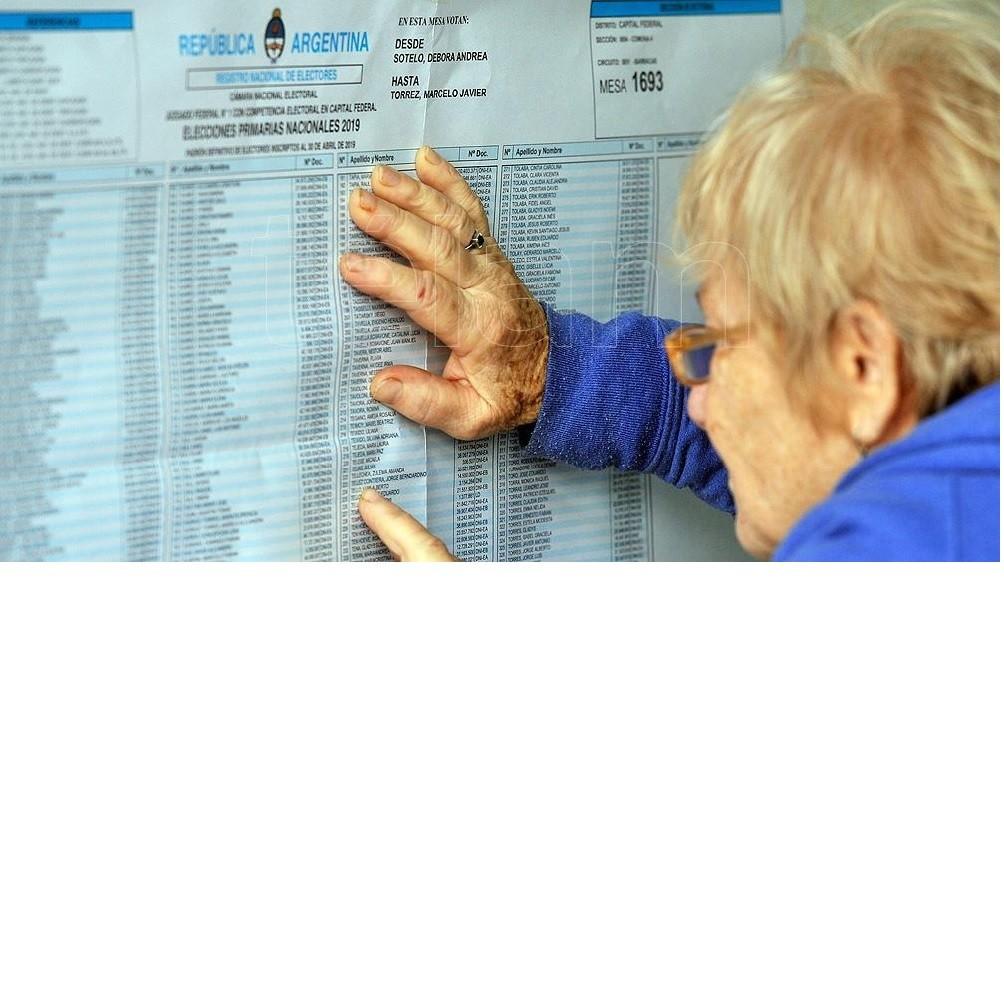Ya está disponible el Padrón Provisorio para las elecciones legislativas