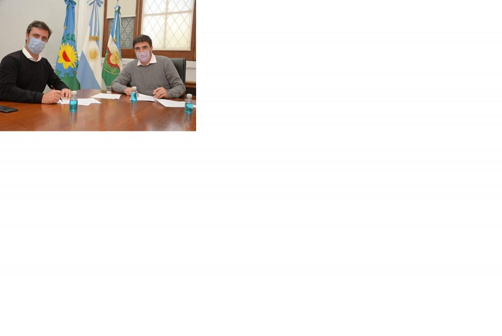 Ezequiel Galli recibió al Subsecretario de Transporte de la Provincia
