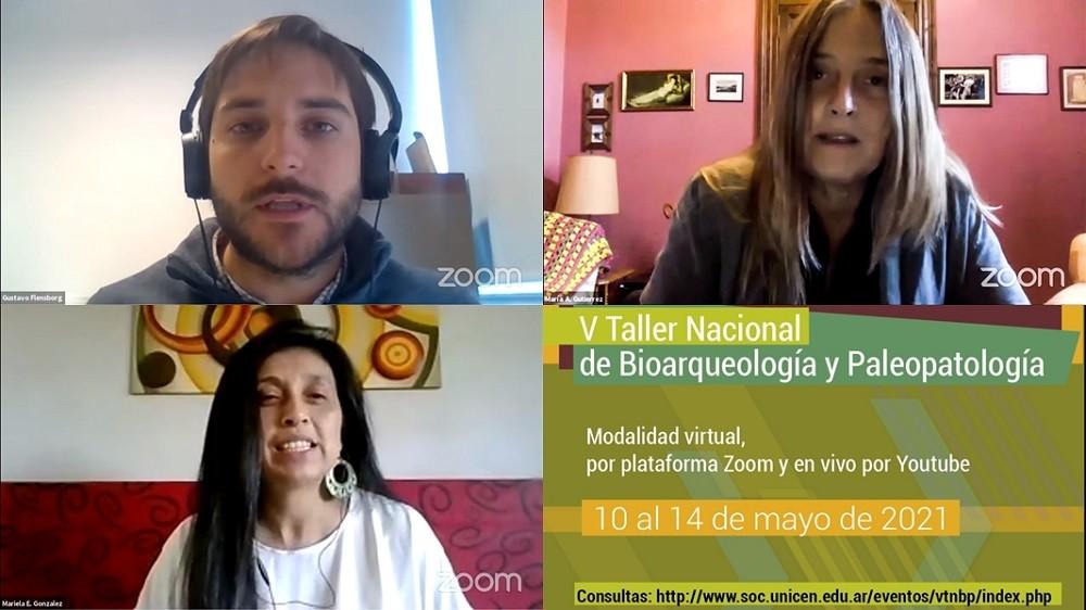Comenzó el V Taller Nacional de Bioarqueología y Paleopatología