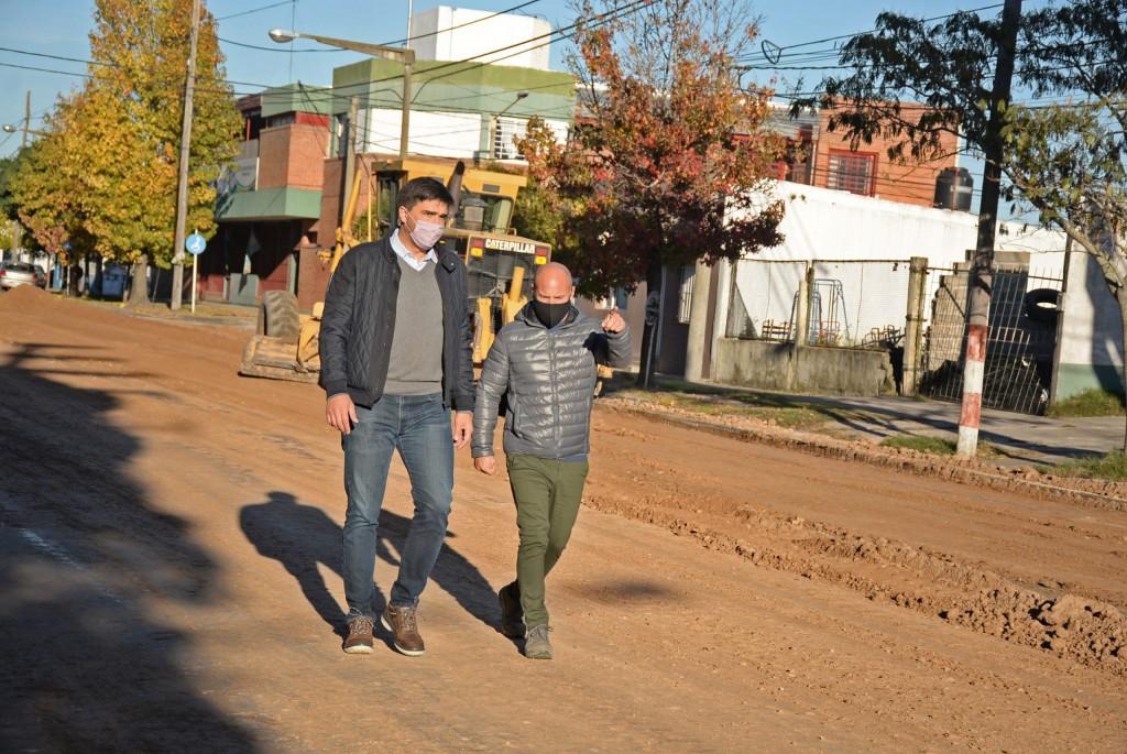 En tres meses estará repavimentado otro sector de la Avenida Ituzaingó