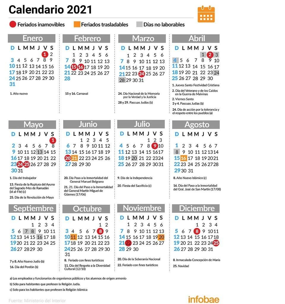 El Gobierno suspenderá el feriado puente del 24