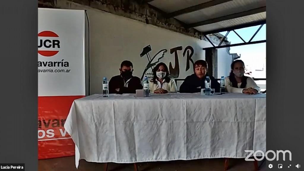 Desde el Comité en reconstrucción y de manera virtual, asumieron las nuevas autoridades de la UCR Olavarría
