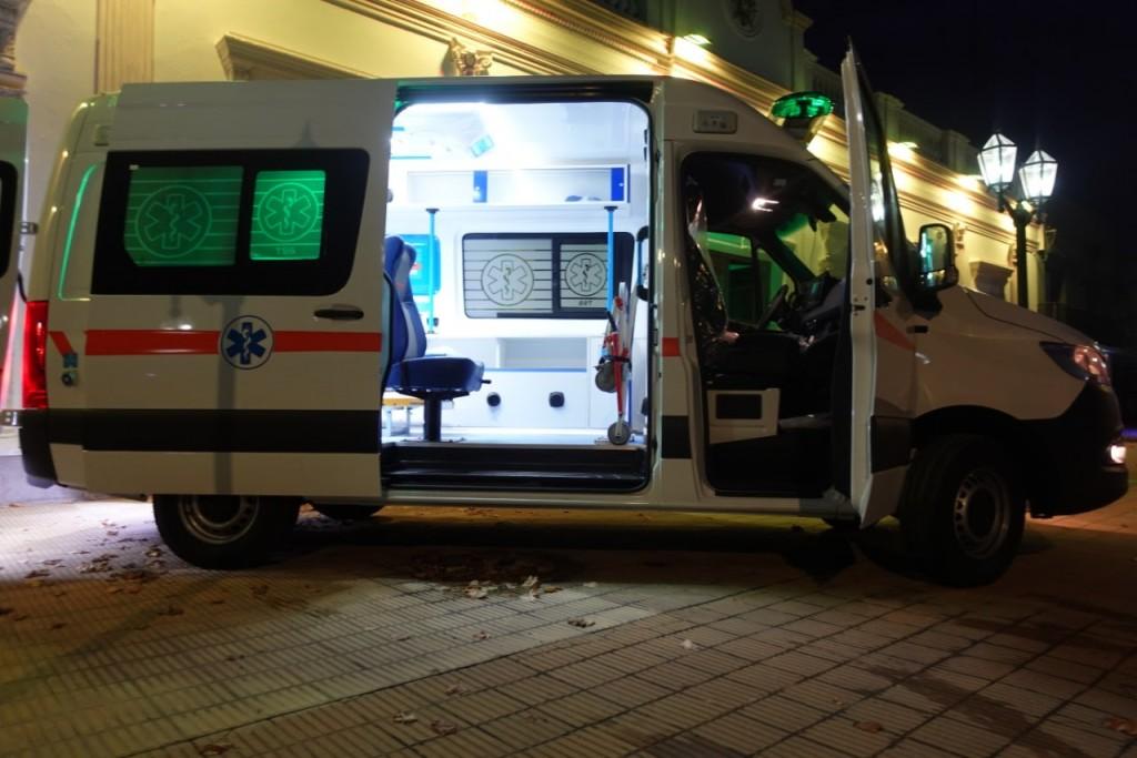 Tapalqué sumó una ambulancia