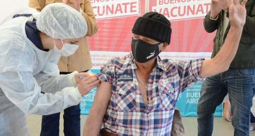 Nuevo récord de vacunados: este miércoles fueron inoculadas más de 1100 personas