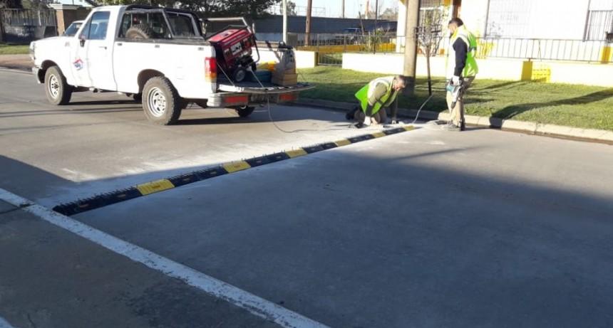 El Municipio realiza mejoras en la seguridad vial