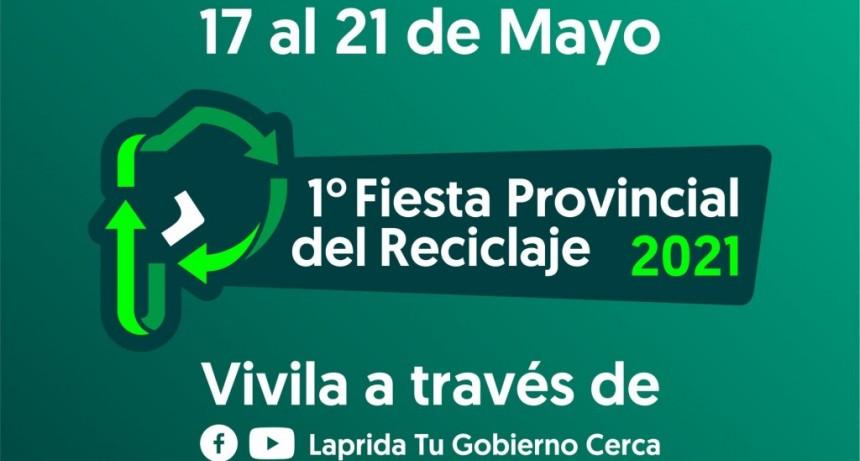 Laprida realiza la primera Fiesta Provincial del Reciclado