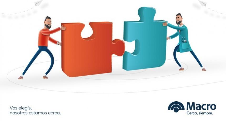 Banco Macro con propuestas para Negocios y Profesionales