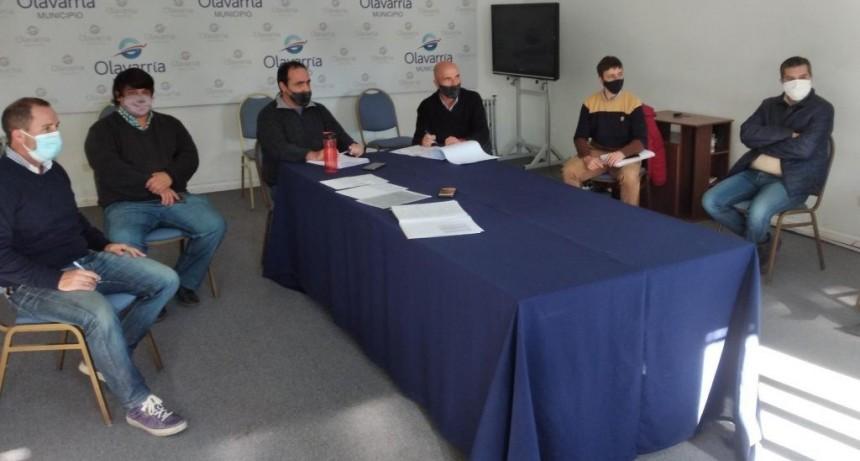 Transporte interurbano: funcionarios y concejales se reunieron con trabajadores del sector