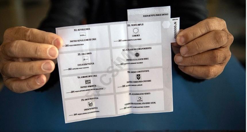 Una histórica e inédita elección de dos días marcará el futuro de Chile