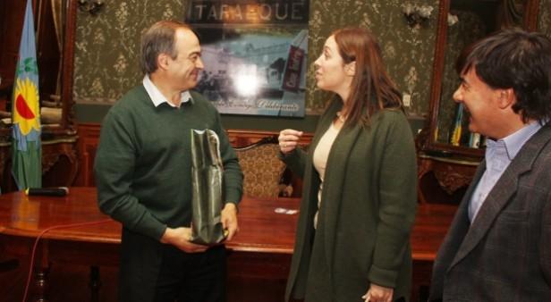 Vidal visitó a Cocconi