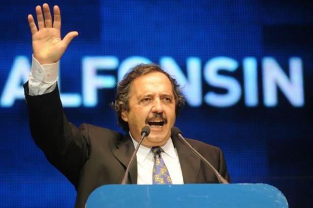 Alfonsín sobre la creación de la secretaría de Coordinación del Pensamiento Nacional