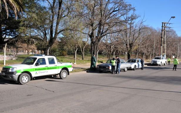 Retuvieron vehículos estacionados en lugares no permitidos
