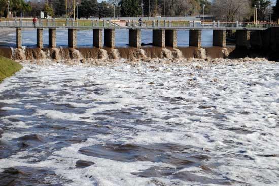 Afirman que Olavarría superó la media veinteñal en precipitaciones