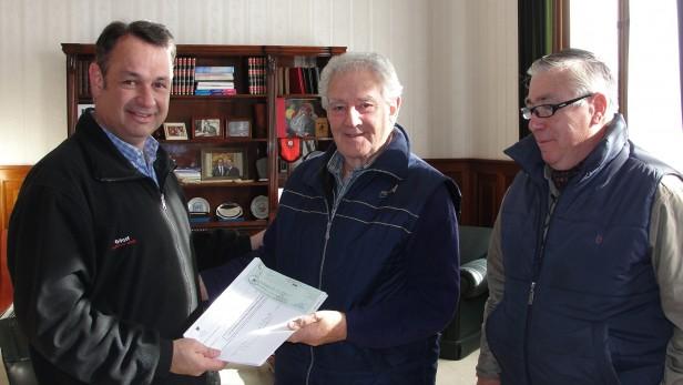 Alvear: subsidio para la Sociedad de Bomberos Voluntarios