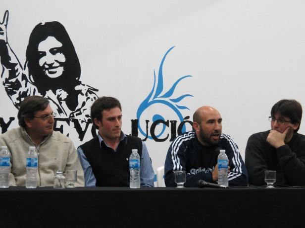 Diputados de la séptima en 25 de Mayo