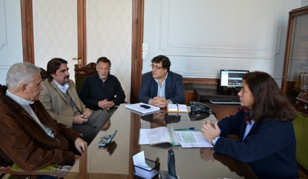 Arregui se reunió con autoridades de Coopelectric por obras