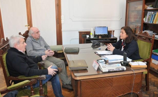 Margarita Arregui se reunió con Martilleros