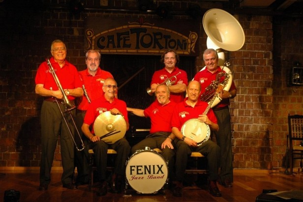 Fénix Jazz Band en Olavarría