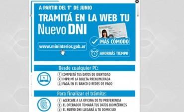 El trámite para renovar el DNI, ahora por internet