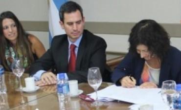 González Hueso destacó las obras en rutas provinciales