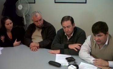 UNEN Olavarría presentó proyectos sobre Bomberos