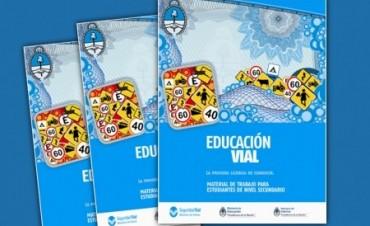 Escuelas locales recibirán material sobre Seguridad Vial