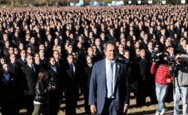 """Scioli: """" queremos cada día más,una policía de aproximación"""""""