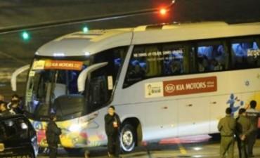 La Selección Argentina se encuentra en Porto Alegre