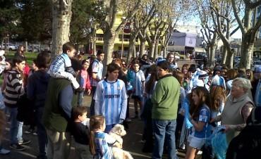 El triunfo argentino y los festejos de los olavarrienses