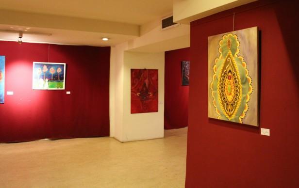 Obras de la plástica local Virginia Maldonado en Capital Federal