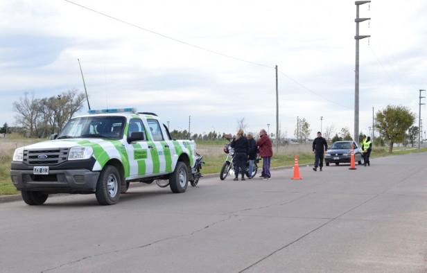 Protección Ciudadana realizó controles de tránsito en distintos puntos de la ciudad