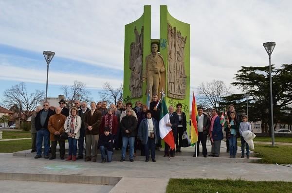 Acto en conmemoración del 245 aniversario del Nacimiento del General Manuel Belgrano y día del Inmigrante Italiano