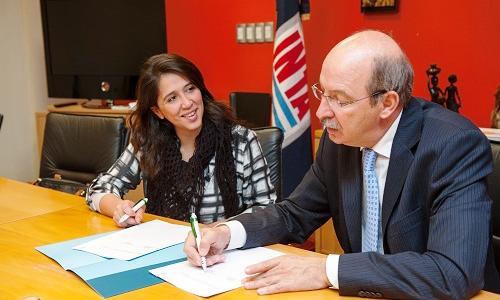 Se firmó un convenio con el INTA para trabajar en el empoderamiento económico de las mujeres