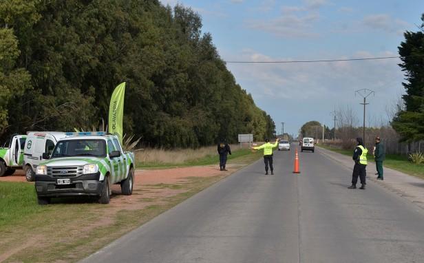 Protección Ciudadana realizó controles de tránsito en el Camino de los Pueblos