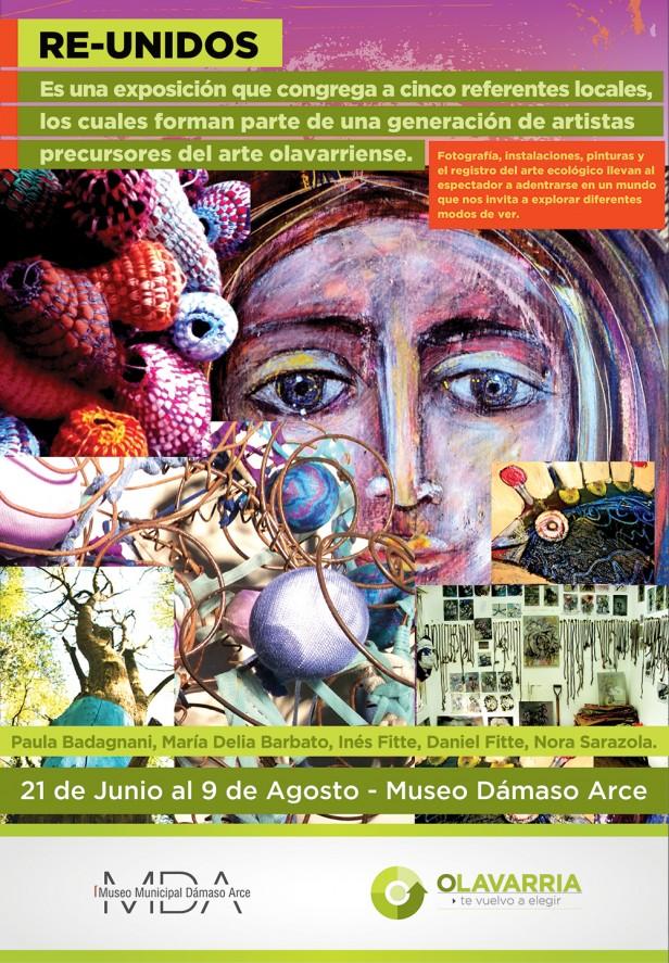 RE-UNIDOS inaugura en el Museo Dámaso Arce