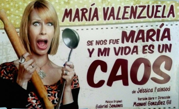 María Valenzuela y su unipersonal en el Teatro Municipal