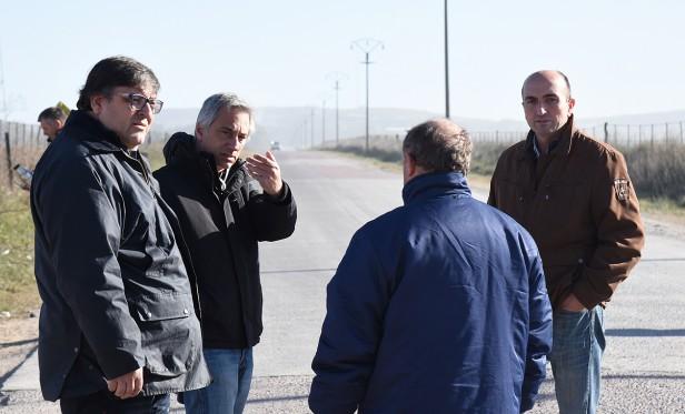 Se realizará la pavimentación del camino que une Colonia San Miguel y Sierras Bayas