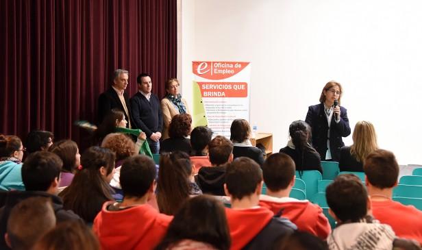 Más de 500 jóvenes participan de la 3º Jornada de Orientación Laboral