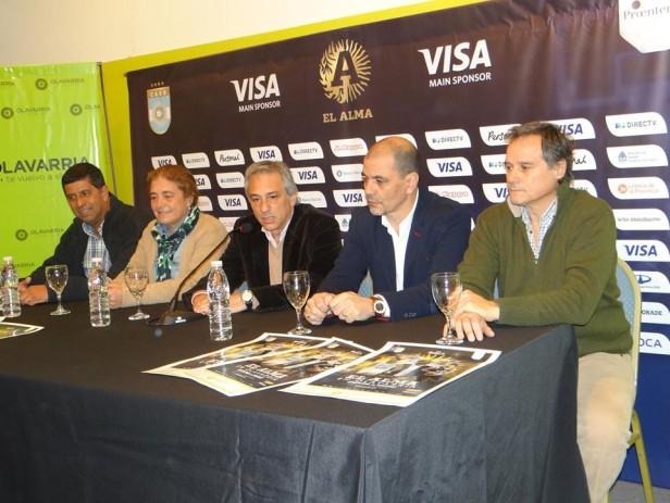 Básquet: Presentación de Argentina-Uruguay