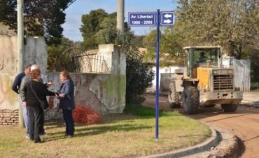El Gobierno Municipal comenzó la obra de pavimentación en Hinojo