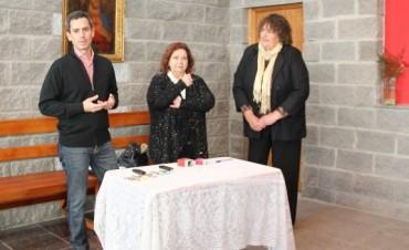José González Hueso anunció la construcción de una plaza, cordón cuneta y red peatonal