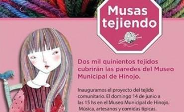 """Inauguración de la muestra """"Musas tejiendo"""""""