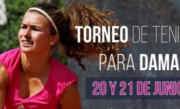 Torneo de singles para mujeres en La Pedrera