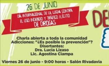 Charla por el Día Internacional de la Lucha contra el Uso Indebido y el Tráfico Ilícito de drogas