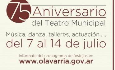 Semana de festejos en el Teatro Municipal