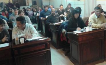 Sesionó el Concejo Deliberante en Hinojo