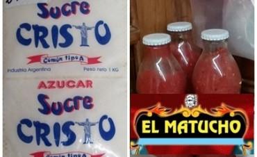 Retiro del mercado de Azúcar Sucre Cristo y Tomate El Matucho